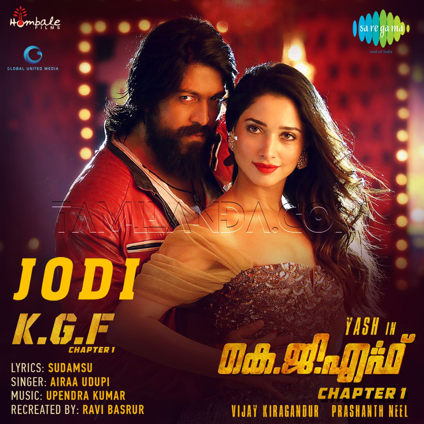 Jodi (From K.G.F. Chapter 1) – Single FLAC Song (2018)