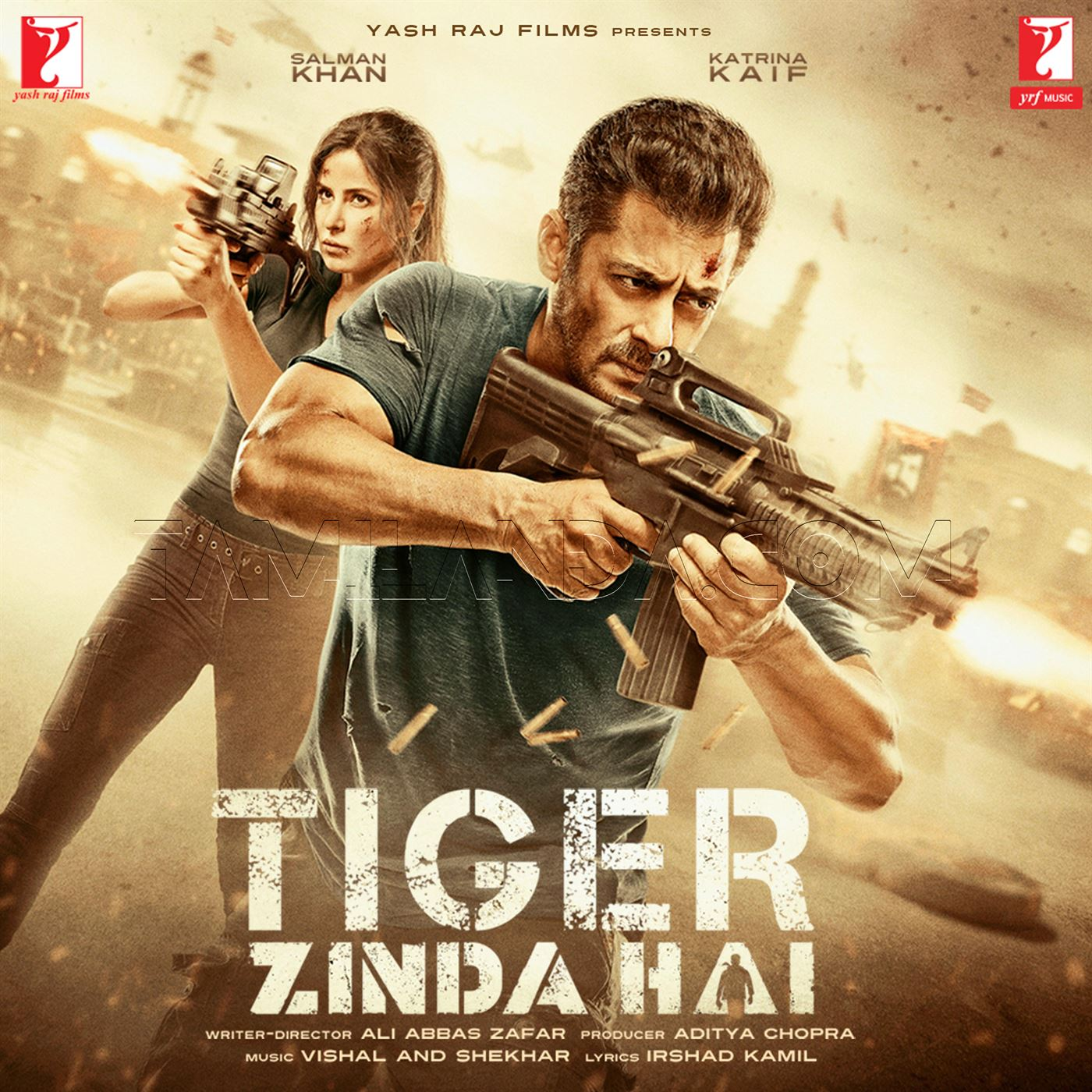 Tiger Zinda Hai FLAC Songs [2017]