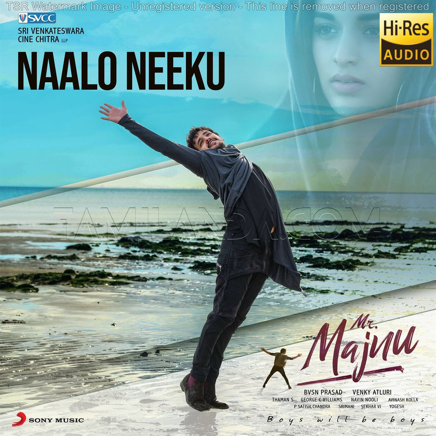 Naalo Neeku (From Mr. Majnu) – Single 24 BIT FLAC Song (2019)