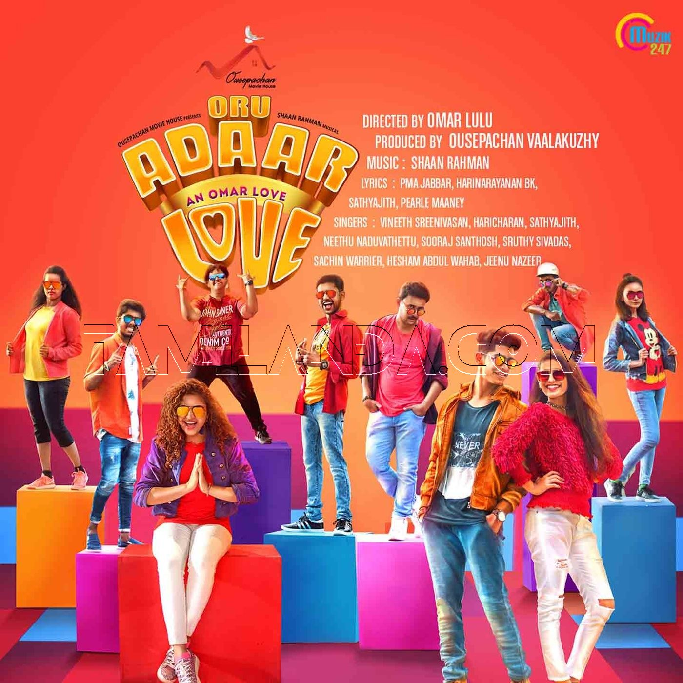 Oru Adaar Love FLAC Songs (2019)