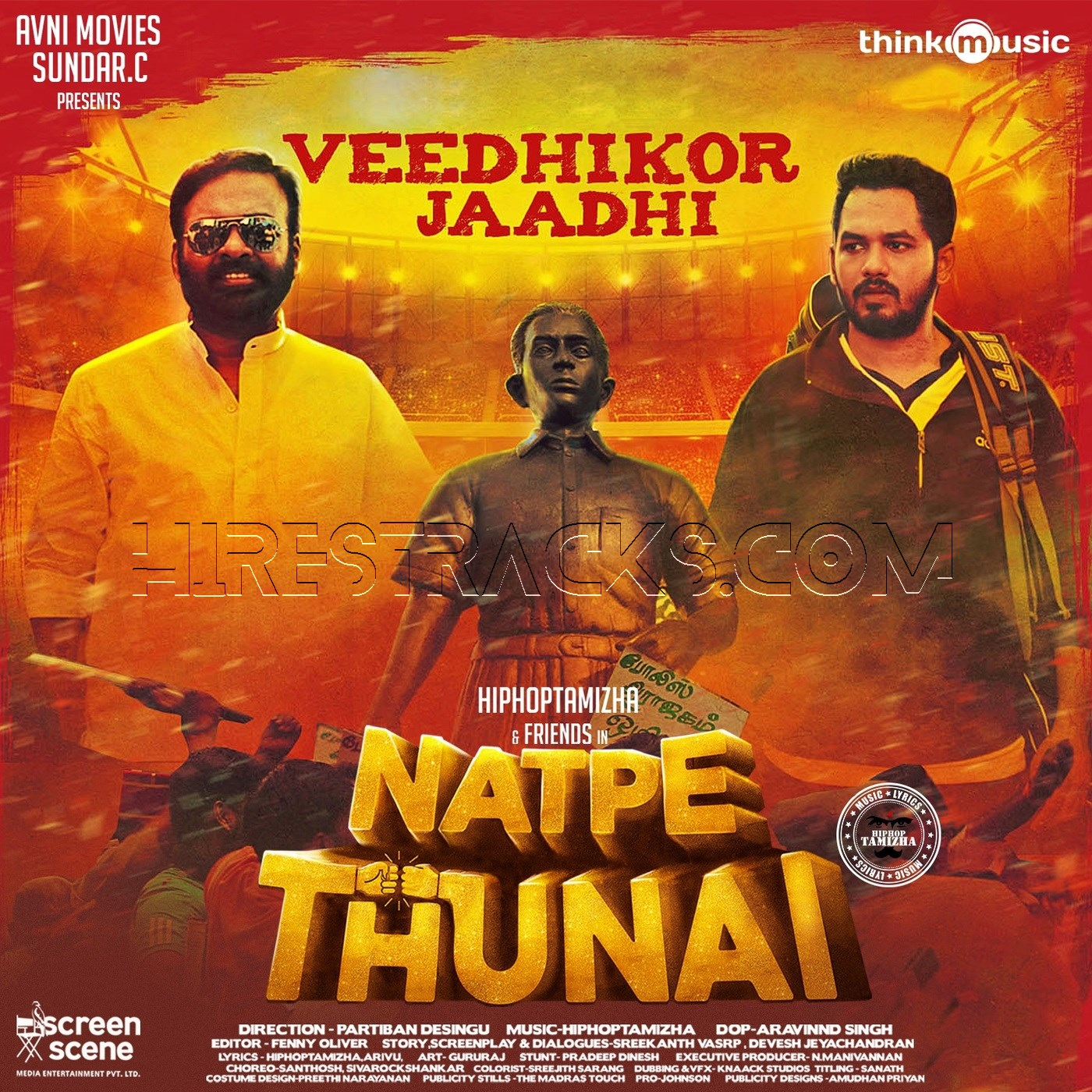 Veedhikor Jaadhi (From Natpe Thunai) – Single (2019)
