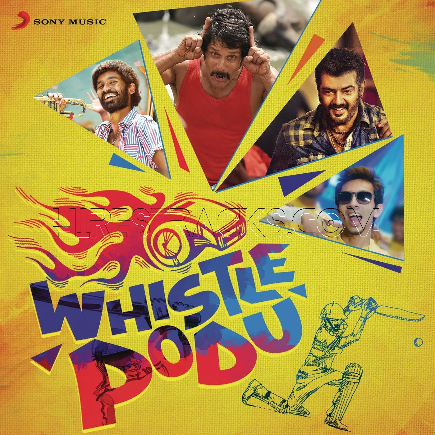 Whistle Podu (2015) [1-3 CDs]