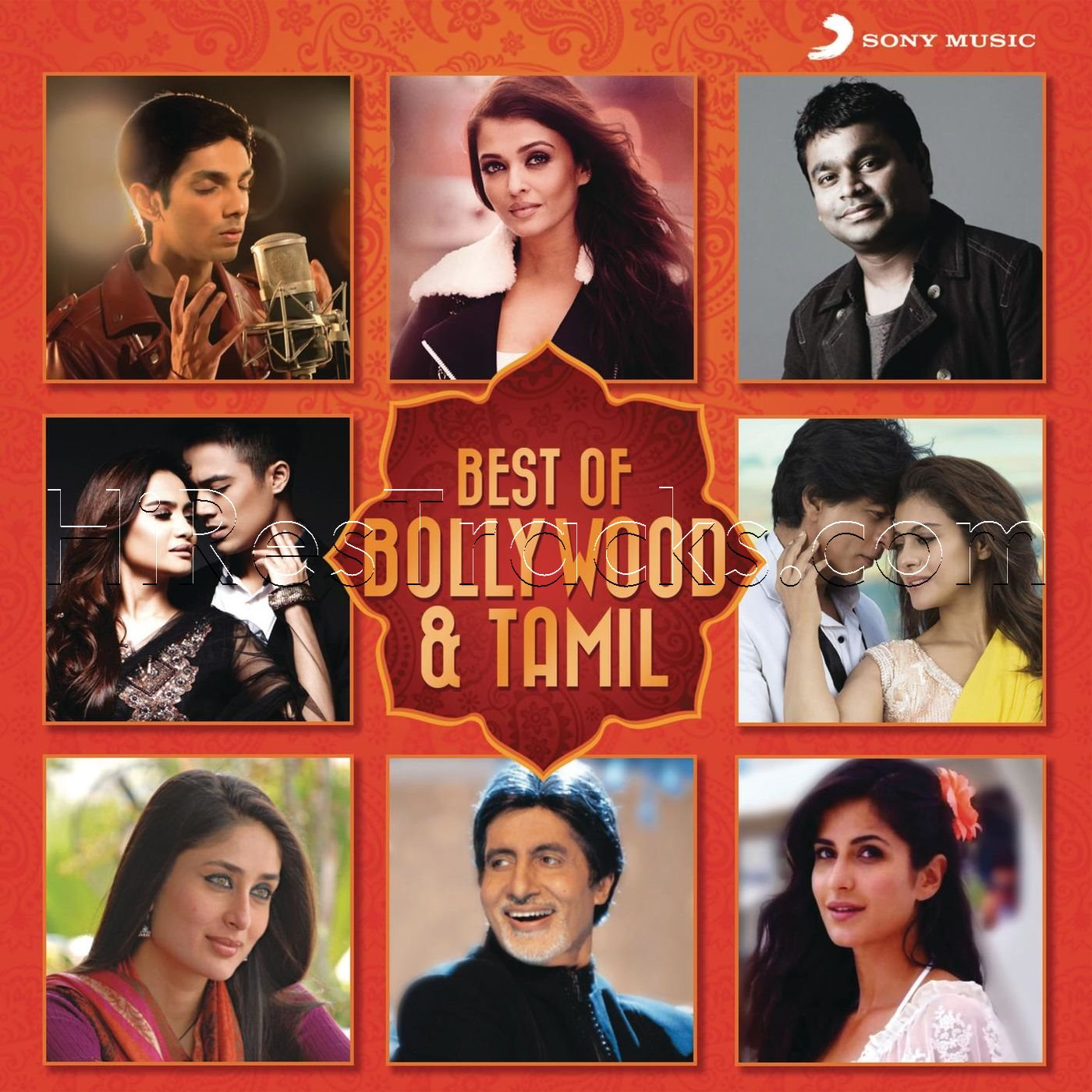 Best of Bollywood & Tamil (Various Artists) (2016)
