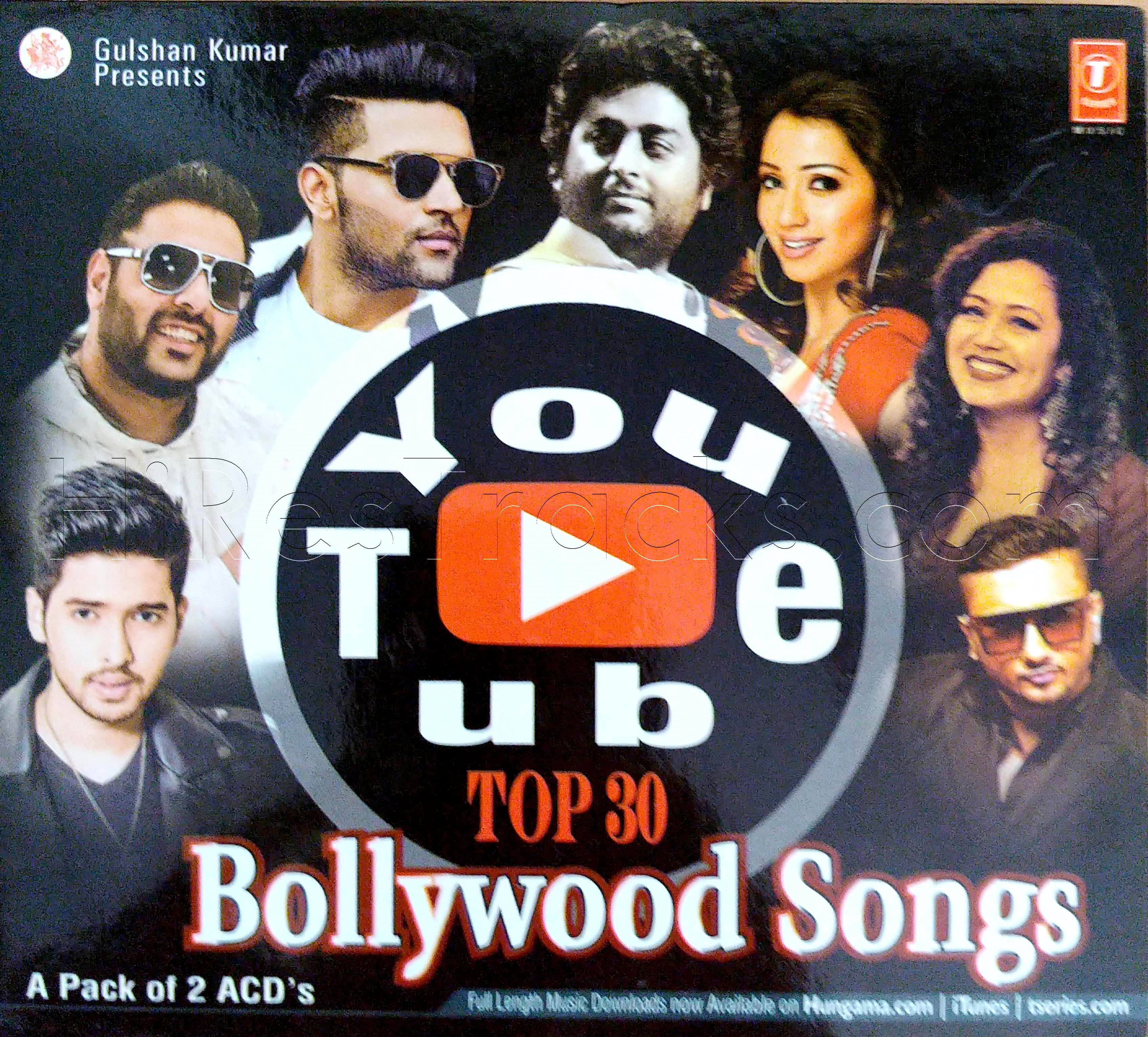 Youtube Top 30 Bollywood Songs (2019) (Various Artists) [2 CDs] [ACD-RIP-WAV]