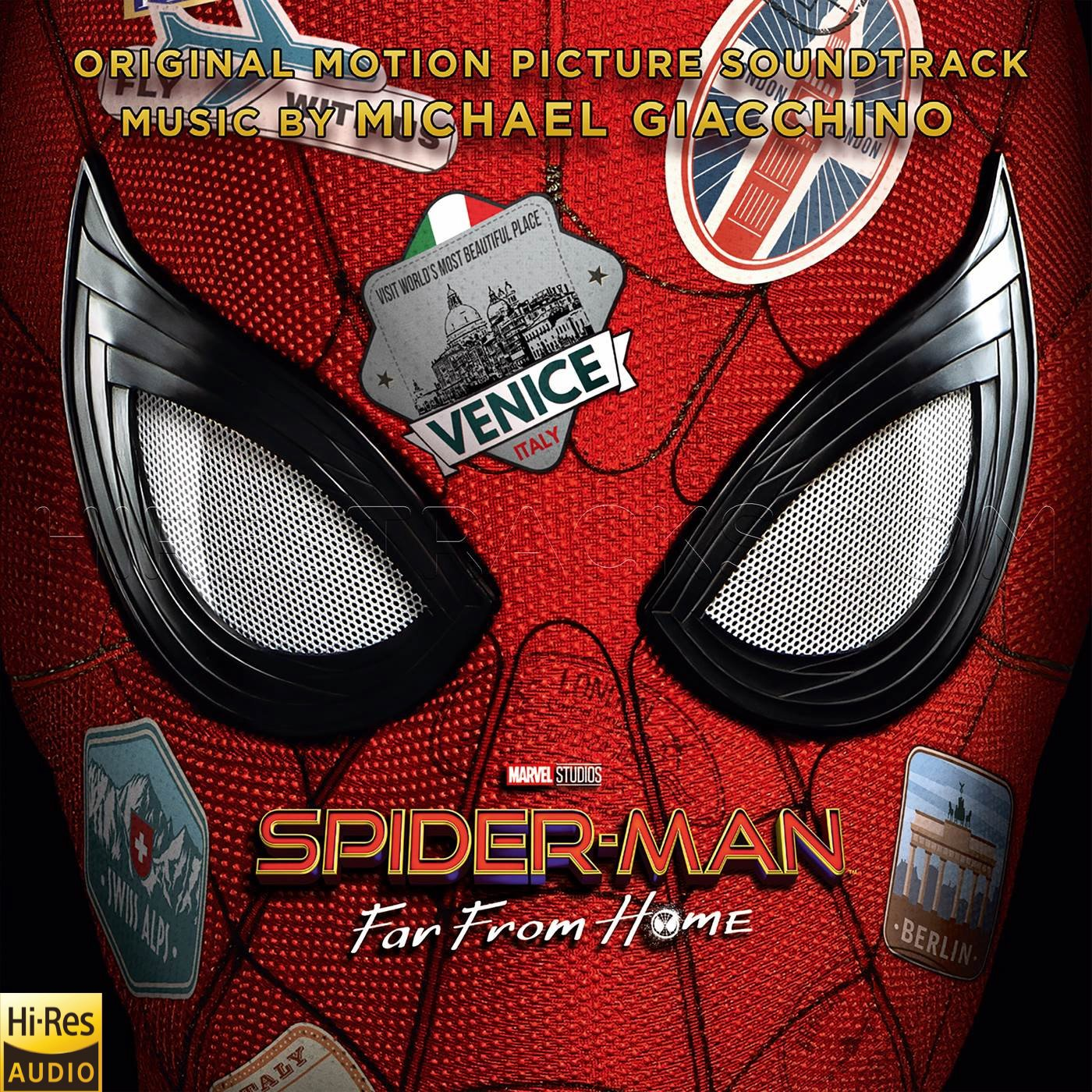 Spider-Man Far from Home (2019) (Michael Giacchino) [24 BIT – 96 KHZ]