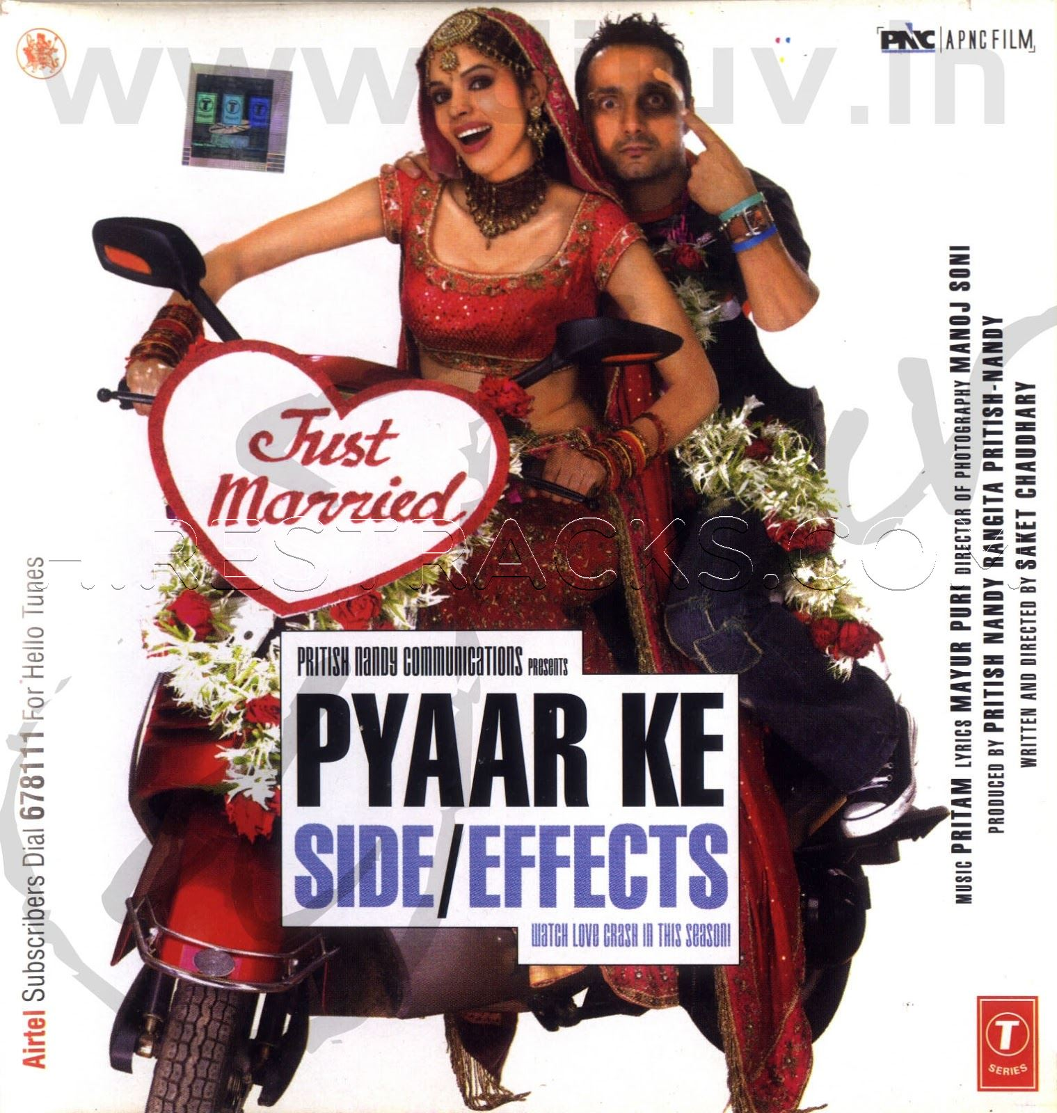 Pyaar Ke Side Effects (2006) (Pritam) (T-Series) [ACD-RIP-WAV]