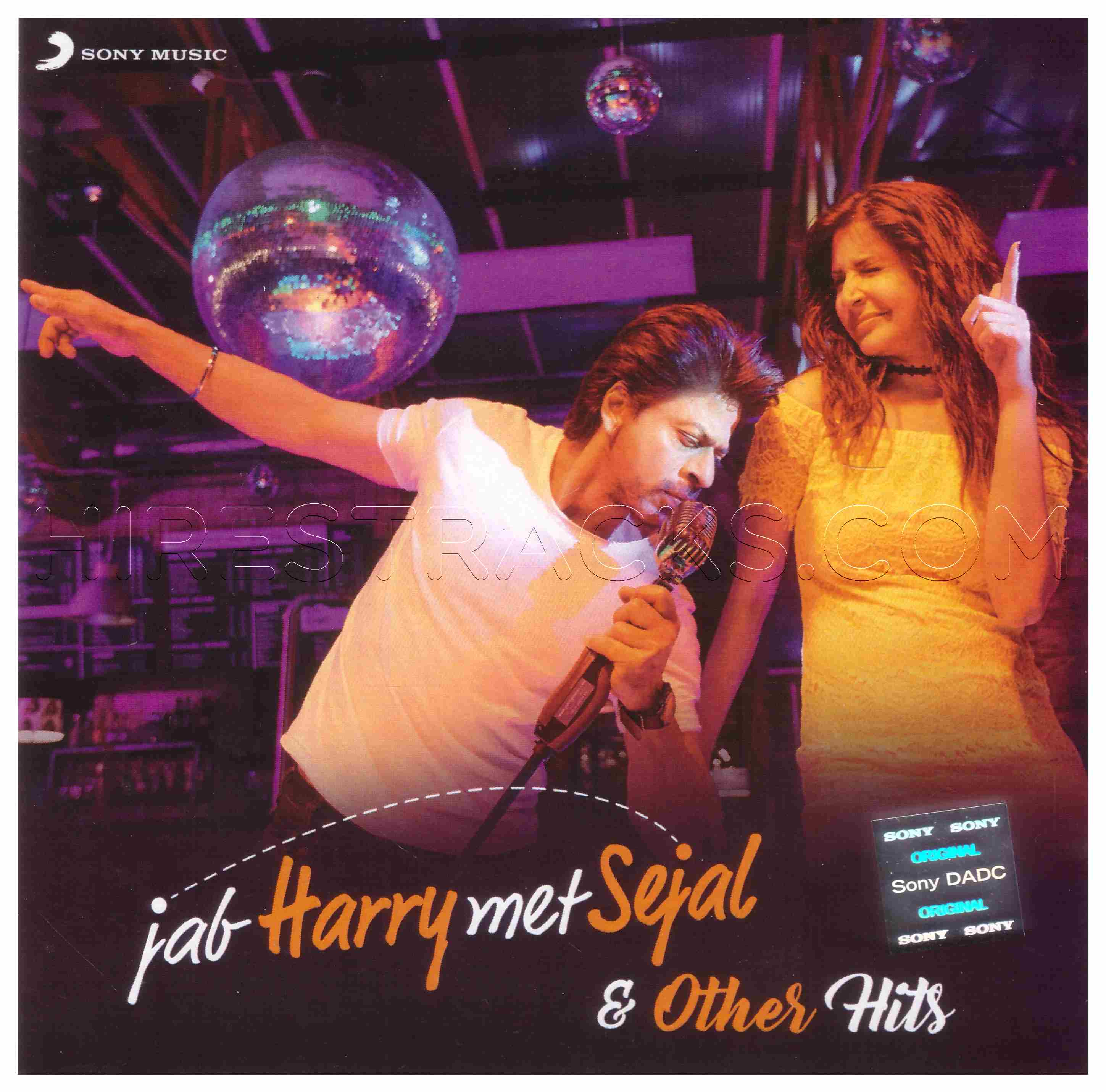 Jab Harry Met Sejal & Other Hits (2017) (Various Artists) (Sony Music) [ACD-RIP-WAV]