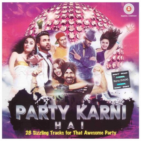 Party Karni Hai [2 CDs] (Various Artists) (Zee Music) [ACD-RIP-WAV]