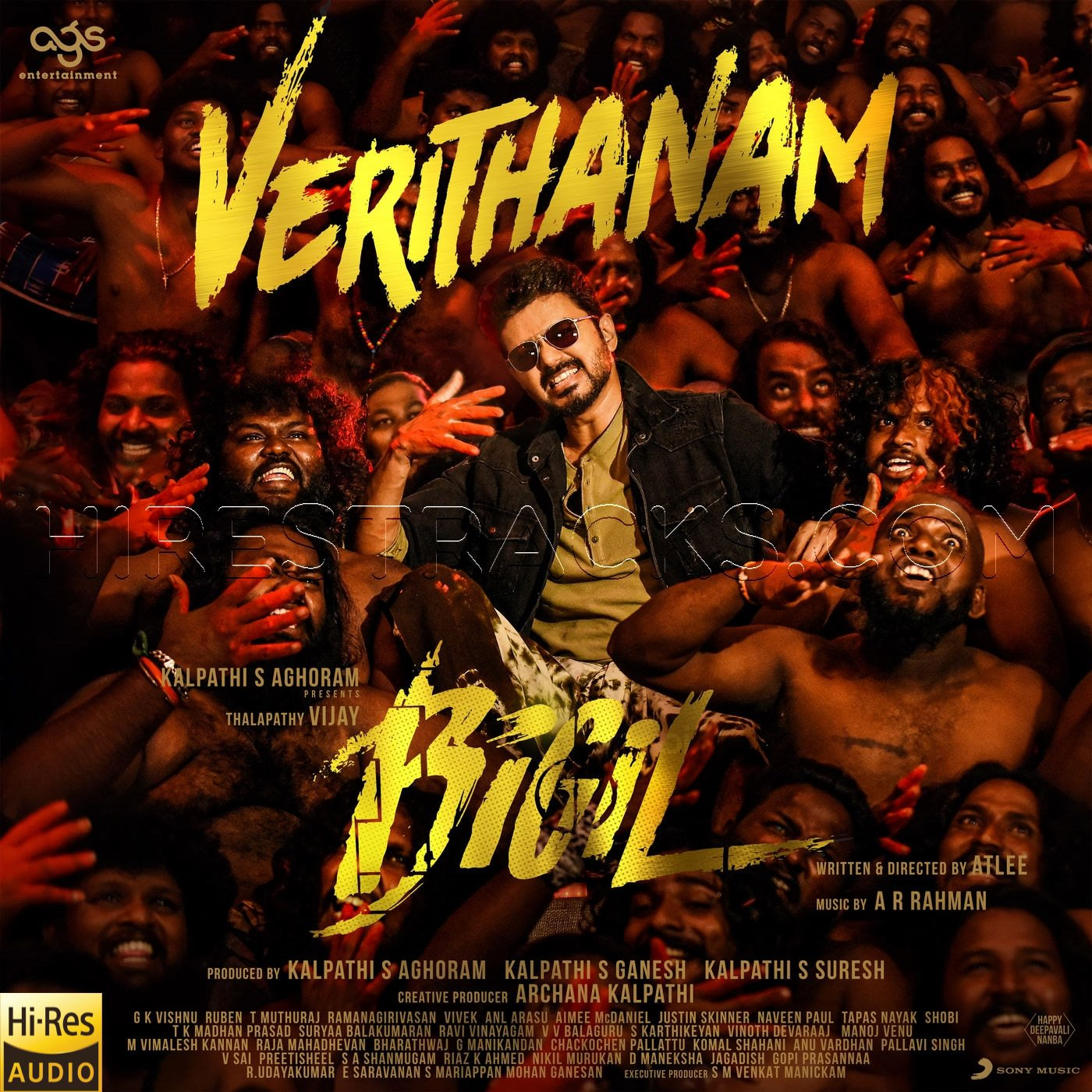 Verithanam (From Bigil) (2019) (A.R. Rahman) (Sony Music) [24 BIT – 48 KHZ] [Digital-DL-FLAC & WAV]