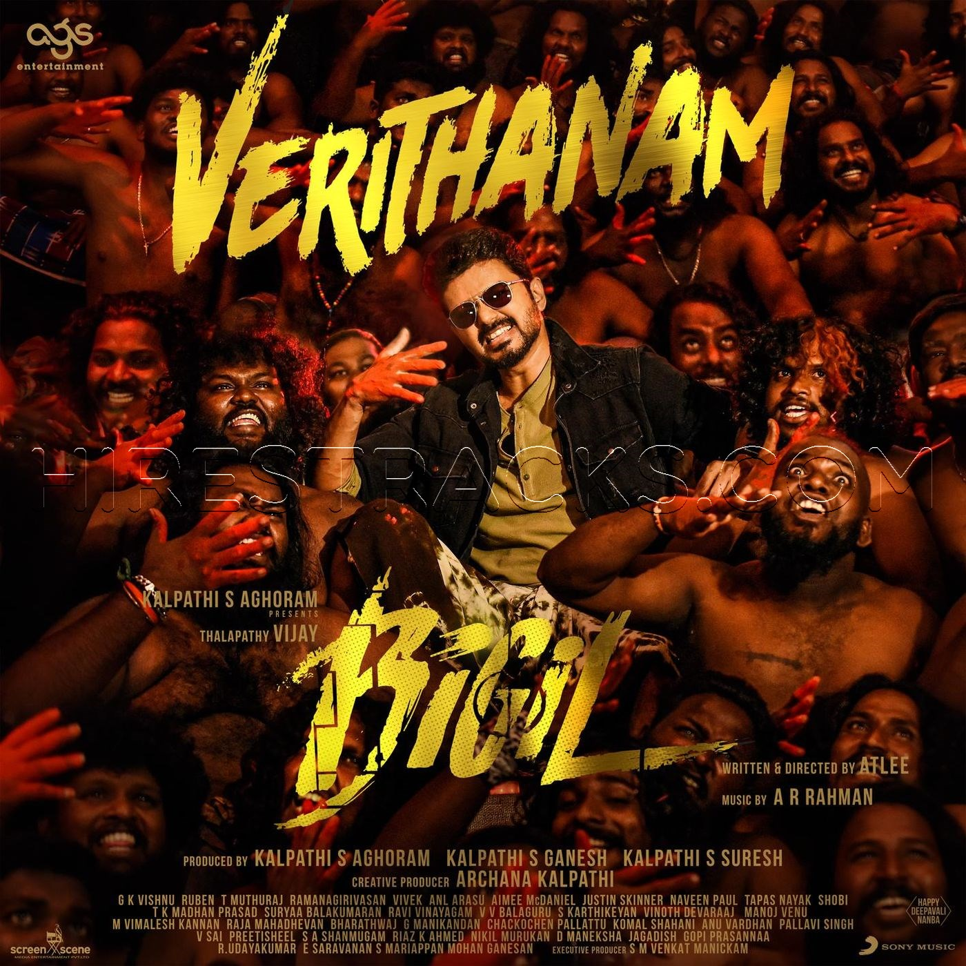 [FREE] Verithanam (From Bigil) (2019) (A.R. Rahman) (Sony Music) [Digital-DL-FLAC]