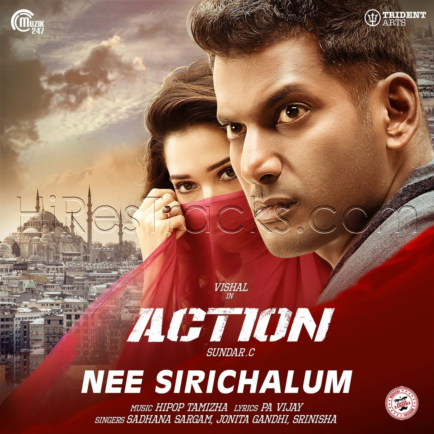Nee Sirichalum (From Action) (2019) (Hiphop Tamizha) (Muzik247) [Digital-RIP-FLAC]
