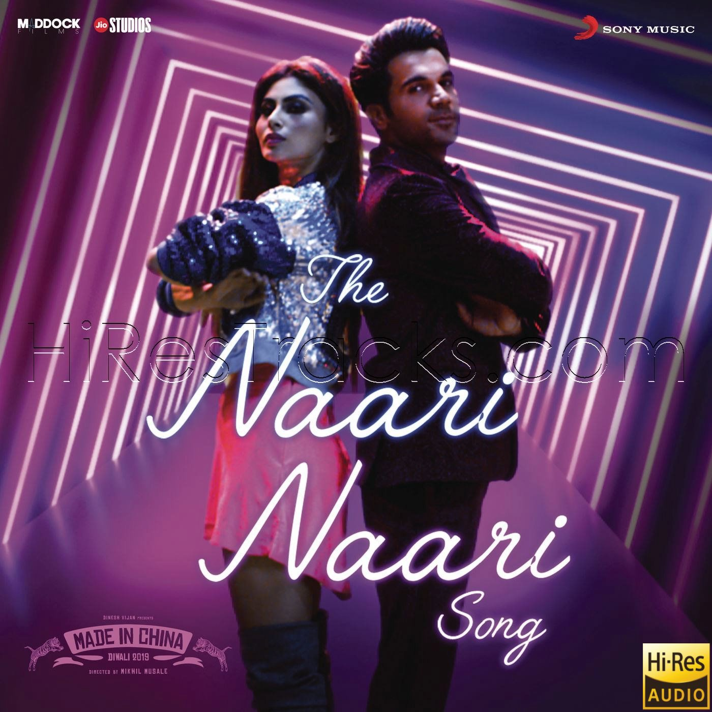 The Naari Naari Song (From Made in China) (2019) (Sachin-Jigar) (Sony Music) [24 BIT – 96 KHZ] [Digital-RIP-FLAC]