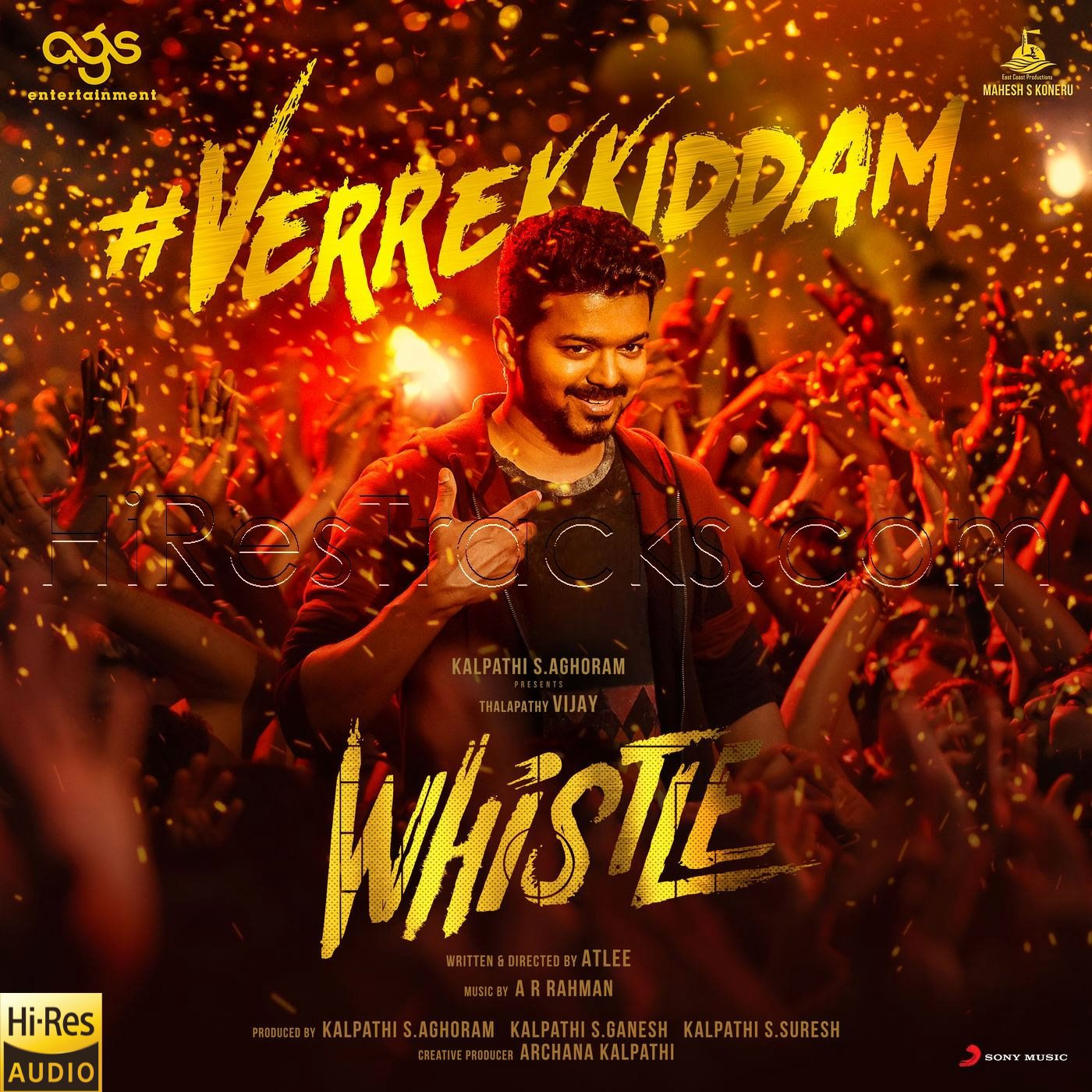 Verrekkiddam (From Whistle) (2019) (A.R. Rahman) (Sony Music) [24 BIT – 48 KHZ] [Digital-RIP-FLAC]