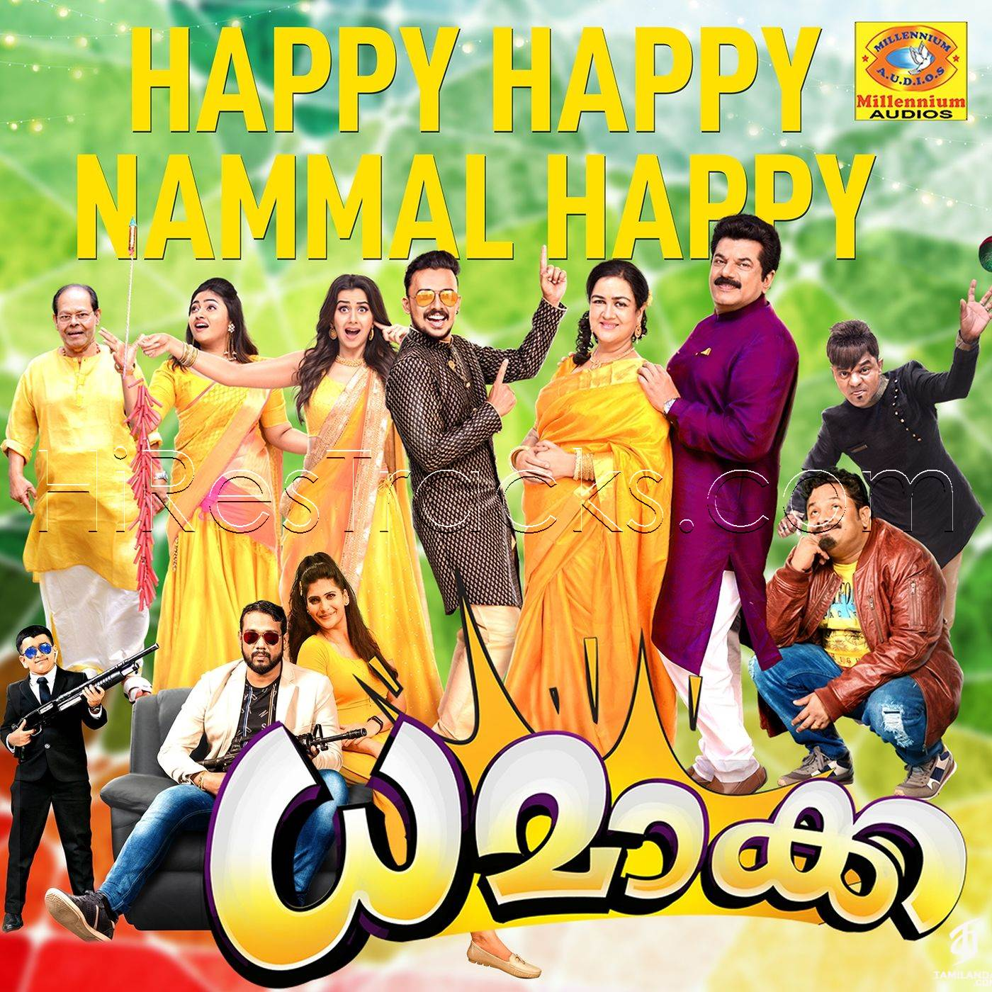Happy Happy Nammal Happy (From Dhamaka) (2019) (Gopi Sundar) (Millennium Audios) [Digital-DL-FLAC]