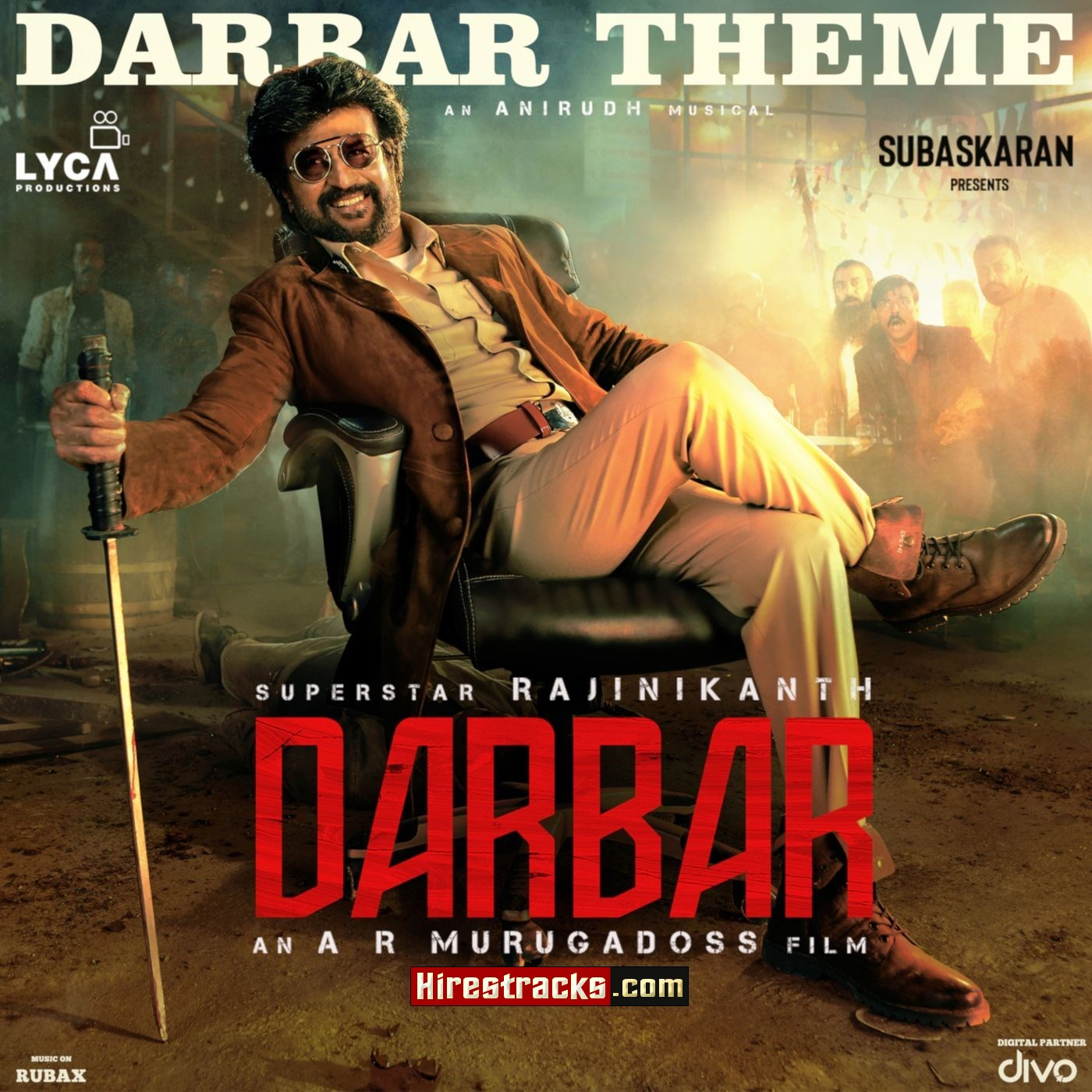 Thalaivar Theme (From Darbar) (2019) (Anirudh Ravichander) (Divo Tv Private Limited) [Digital-DL-FLAC]